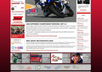 Motorsports – Website